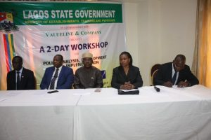 Photo of LASG TASKS STAFF ON SOUND POLICY FORMULATION, IMPLEMENTATION